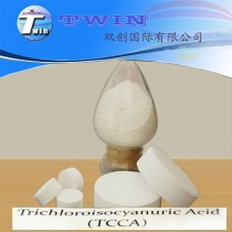 Trichloroisocyanuric acid used as water treatment TCCA 90%